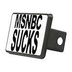 msnbcsucksblk Rectangular Hitch Cover