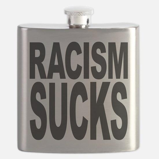 Racism Sucks Flask