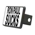 ronpaulsucksblk Rectangular Hitch Cover