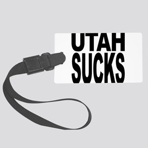 utahsucks Large Luggage Tag