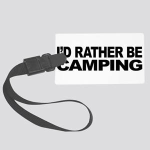 mssidratherbecamping Large Luggage Tag