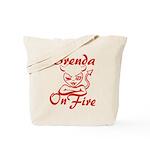Brenda On Fire Tote Bag