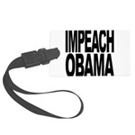 impeachobama Large Luggage Tag