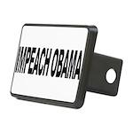 impeachobamalong Rectangular Hitch Cover