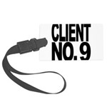 clientno9mssblk Large Luggage Tag