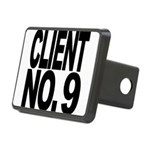 clientno9mssblk Rectangular Hitch Cover