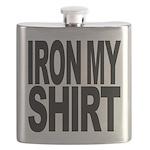 ironmyshirtblockblk Flask