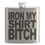 ironmyshirtbitchblk Flask