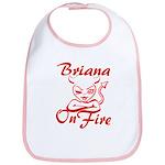 Briana On Fire Bib