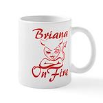 Briana On Fire Mug