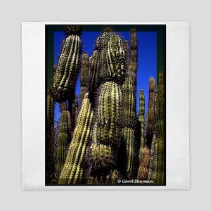 Saguaro Queen Duvet