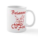 Brianna On Fire Mug