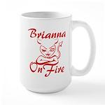 Brianna On Fire Large Mug