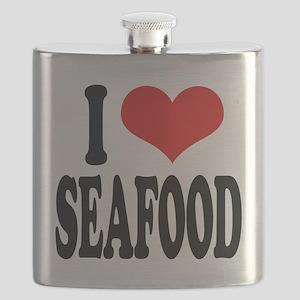 iloveseafoodblk Flask