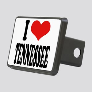 ilovetennesseeblk Rectangular Hitch Cover