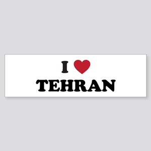 I Love Tehran Sticker (Bumper)