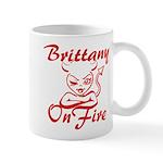 Brittany On Fire Mug