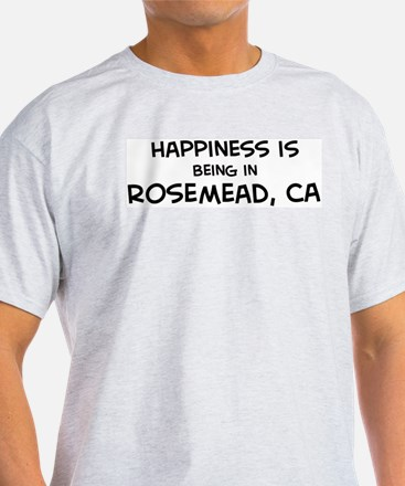 Rosemead - Happiness Ash Grey T-Shirt