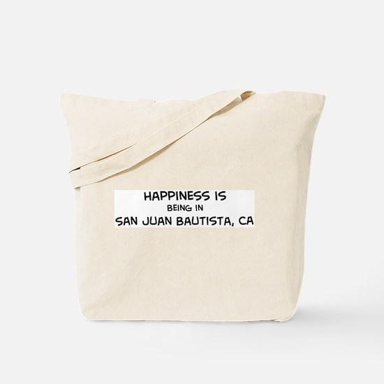 San Juan Bautista - Happiness Tote Bag