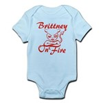 Brittney On Fire Infant Bodysuit