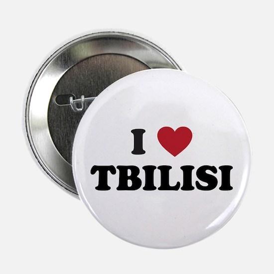 """I Love Tbilisi 2.25"""" Button"""