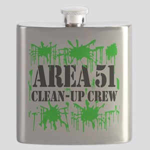 area51cleanupcrewblk Flask