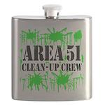 area51cleanupcrewblk Flask