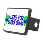 aliensforbarackobama Rectangular Hitch Cover