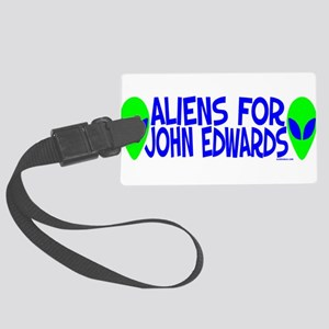 aliensforjohnedwards Large Luggage Tag