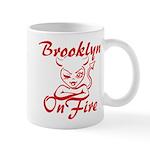 Brooklyn On Fire Mug
