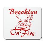 Brooklyn On Fire Mousepad