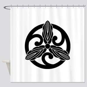 kawari gotoku hoso kashiwa Shower Curtain