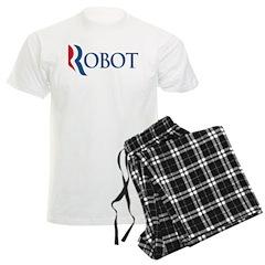Anti-Romney ROBOT Men's Light Pajamas