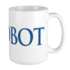 Anti-Romney ROBOT Large Mug