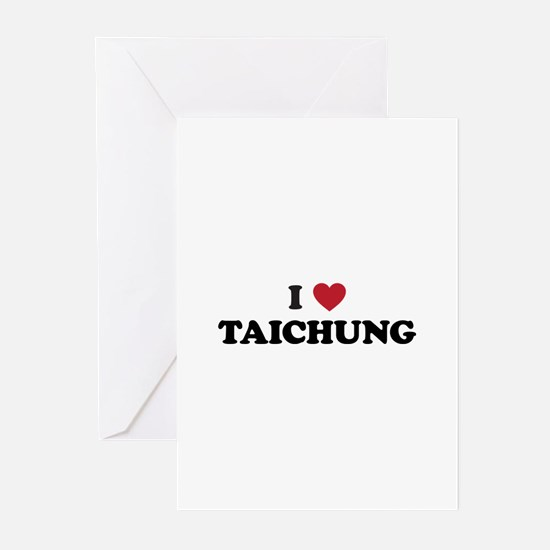 I Love Taichung Greeting Cards (Pk of 20)