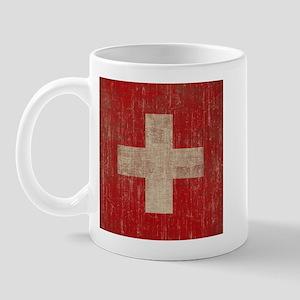 Vintage Switzerland Flag Mug