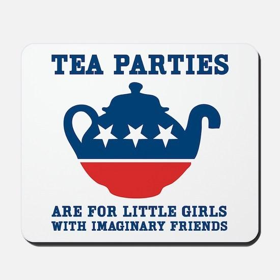 Tea Parties Mousepad