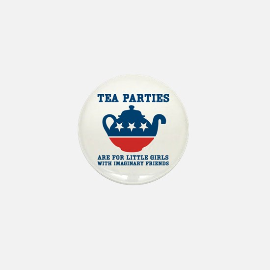 Tea Parties Mini Button