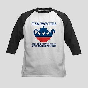 Tea Parties Kids Baseball Jersey
