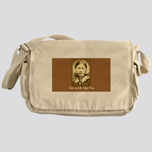 Go with the Flo Nurse Messenger Bag
