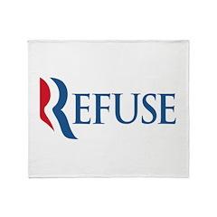 Anti-Romney Refuse Throw Blanket