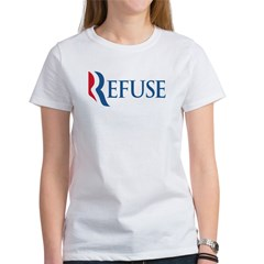 Anti-Romney Refuse Women's T-Shirt