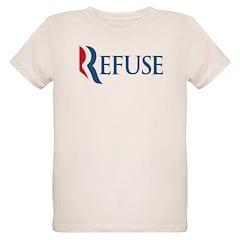 Anti-Romney Refuse Organic Kids T-Shirt