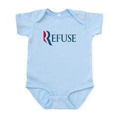 Anti-Romney Refuse Infant Bodysuit