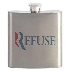 Anti-Romney Refuse Flask