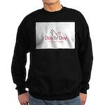 Day By Day Pet Caregiver Support Sweatshirt (dark)