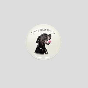 Man's Best Friend Mini Button