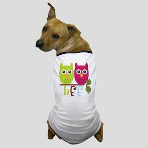 BFF Best Friends Forever Owls Dog T-Shirt