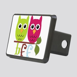 BFF Best Friends Forever Owls Rectangular Hitch Co