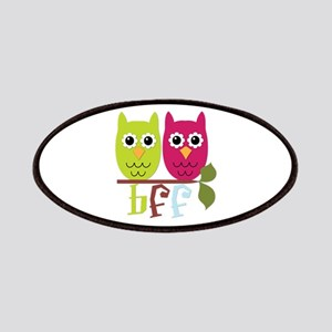 BFF Best Friends Forever Owls Patches